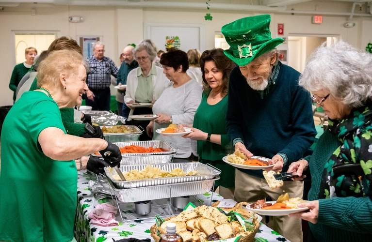 2020 st patricks day buffet